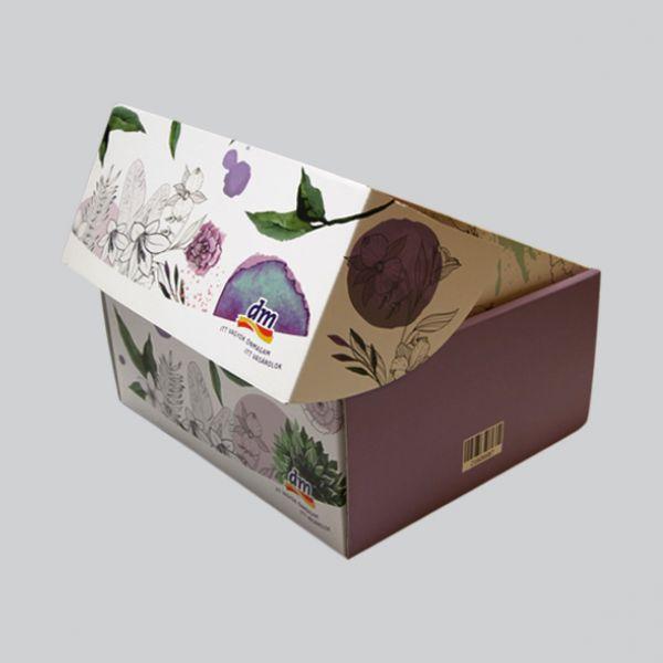 Zárható zsebkendős doboz