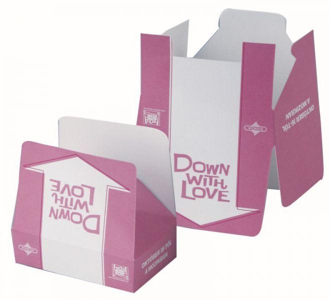 Popcorn papír dobozban