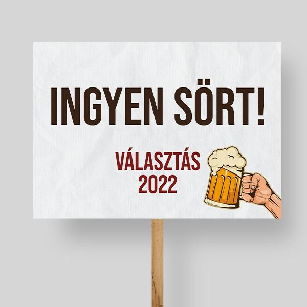 Reklámtábla készítés választás 2022